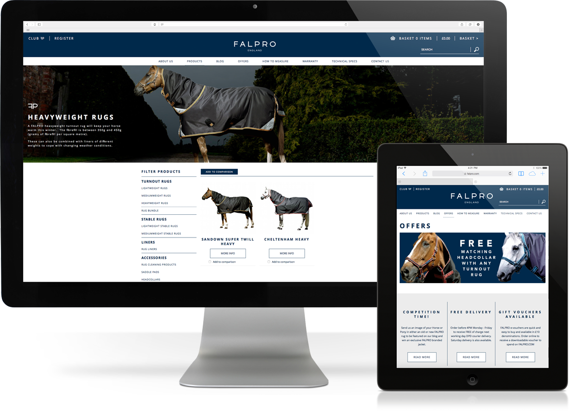 Falpro web design