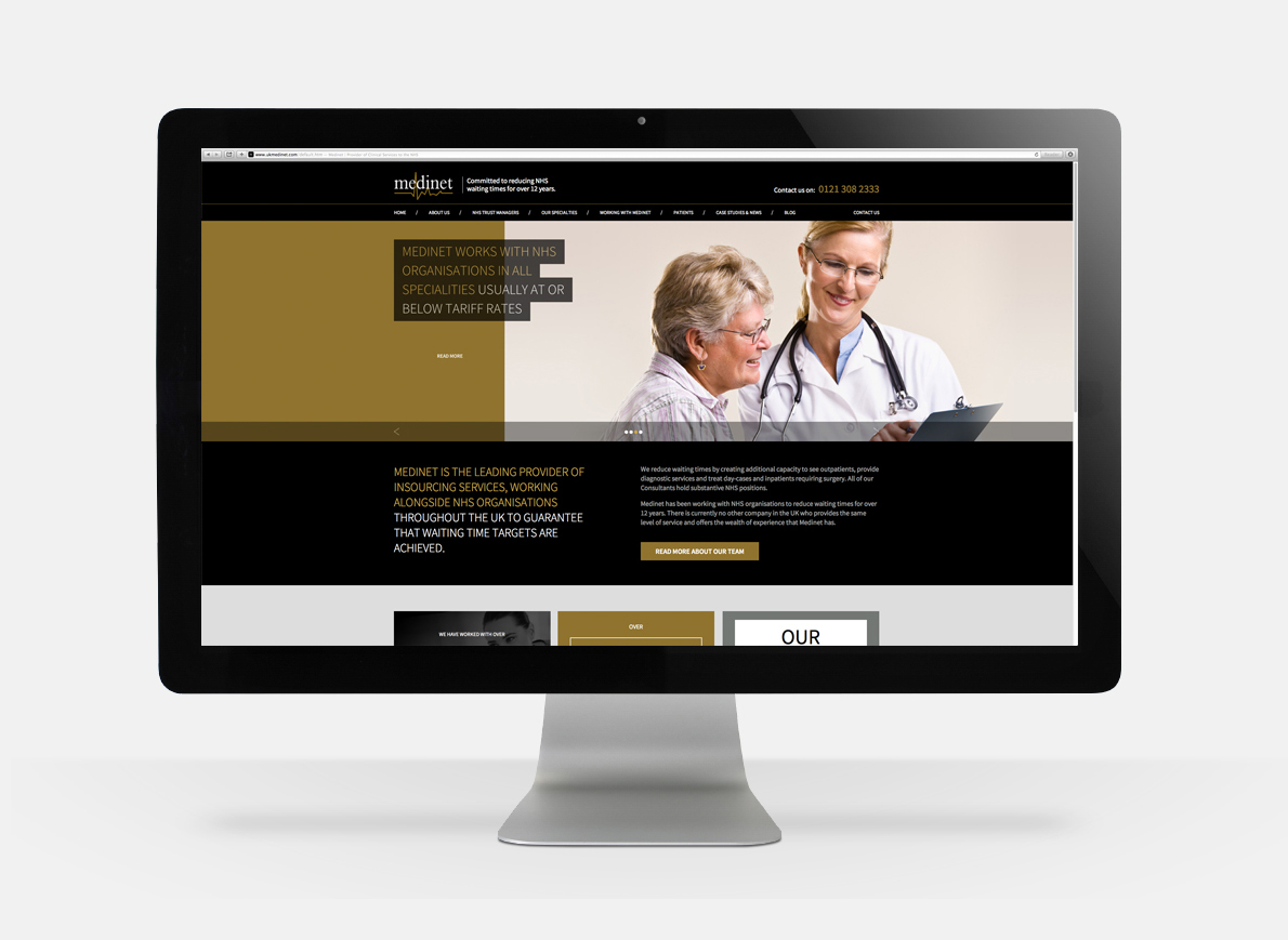 medinet web design