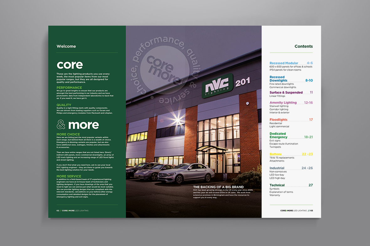 NVC Lighting print design