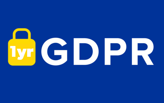 A year on from GDPR